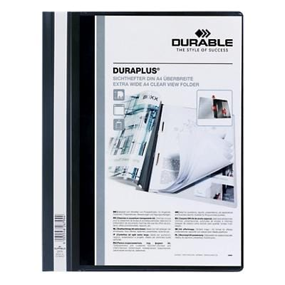 DURABLE Report File 2579-01 A4 Black PVC