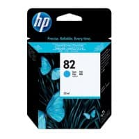 HP 82 Original Ink Cartridge C4911A Cyan