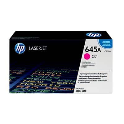 HP 645A Original Toner Cartridge C9733A Magenta