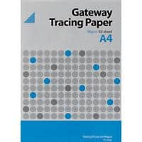 Gateway Tracing Paper A4 90 g/m² 210 mm Transparent 50 Sheets