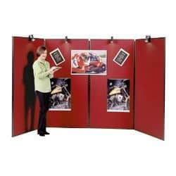 Jumbo 4 Panel Display Unit-Red