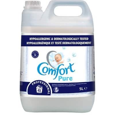Comfort Fabric Conditioner Pure Lightly Scented 5 L