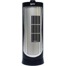 iGENIX Floor Fan Mini DF0020 Black, Silver