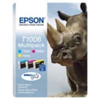 Epson T1006 Original Ink Cartridge C13T10064010 3 Colours Pack of 3