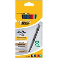 BIC Permanent Marker Marking Pocket 1445 Bullet Assorted 4 Pieces