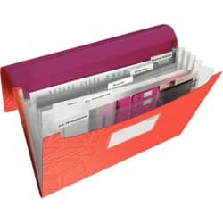 Leitz Project File Urban Chic A4 Red, purple Polypropylene 36 x 26 cm