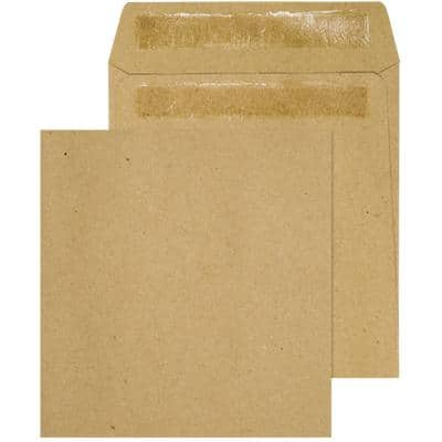 Purely Everyday Wage Envelopes Non standard 90gsm Brown Plain Self Seal 1000 Pieces