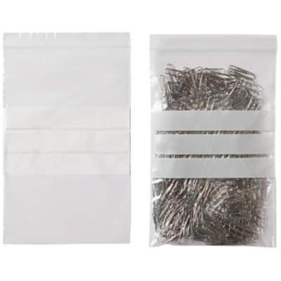 Grip Seal Bag Transparent 22.9 x 15.2 cm 1000 Pieces