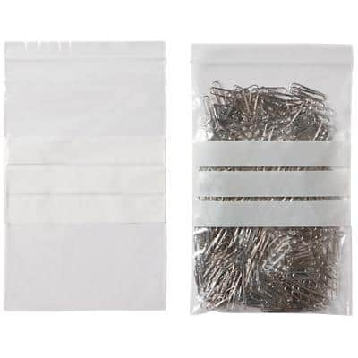 Niceday Grip Seal Bags Transparent 22.9 x 15.2 cm 1000 Pieces