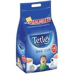 Tetley Black Tea Tea Bags 440 Pieces