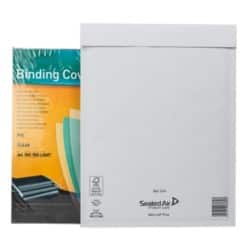 Sealed Air Mailing Bags 79gsm White plain peel and seal 50 pieces