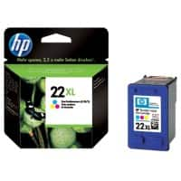 HP 22XL Original Ink Cartridge C9352CE 3 Colours
