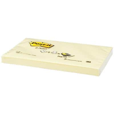 Post-it Sticky Z-Notes 127 x 76 mm Canary Yellow 12 Pads of 100 Sheets