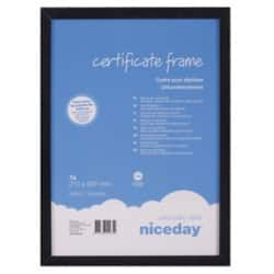 Niceday Wooden Certificate Frame – 294 H x 210 W mm
