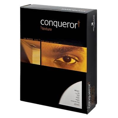Conqueror Paper A4 100gsm Laid High White 500 Sheets