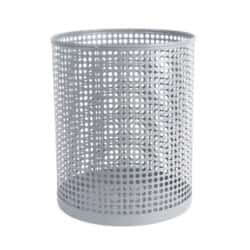Foray Waste Bin Mesh Grey