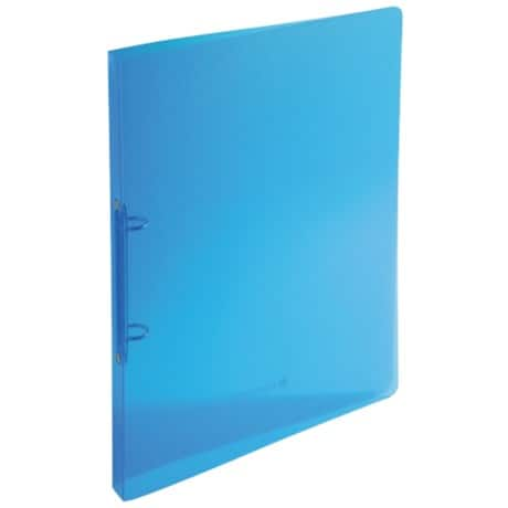 Exacompta Ring Binder A4 2 ring 20 mm Translucent Blue