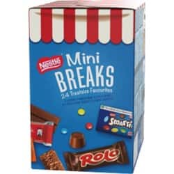 Nestlé Mini Breaks 24 Treatsize Favourites 24 pieces