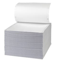 Niceday Listing Paper, 2 Part NCR Plain with Standard vp's, 279 x 241 mm