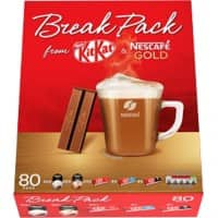 Nestlé Break Pack Kitkat and Coffee 80 pieces