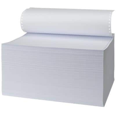 Niceday Computer Listing Paper 36.8 x 27.9 cm 70gsm Plain White 2000 Sheets