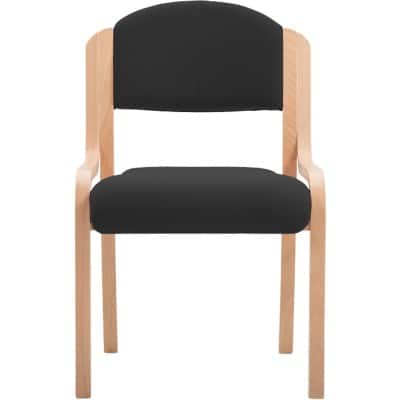 Stacking Chair without Arms, Black