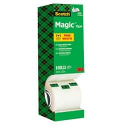 Scotch Magic Tape Magic 810 19 mm x 33 m Transparent 8 rolls