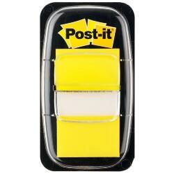 Post-it® Index Yellow Flags (25mm) 50 flags per dispenser