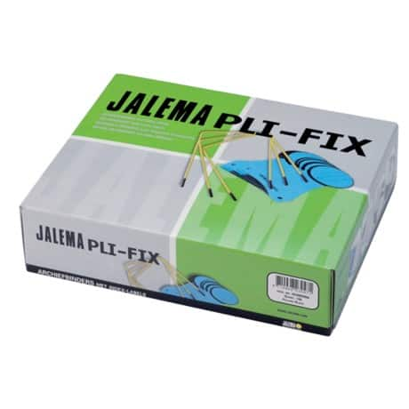 Jalema Archives Binder Pli-Fix Yellow plastic/metal 10.5 x 8.5 cm 100 pieces