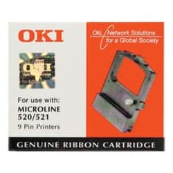 OKI Printer Ribbon ML520 Black
