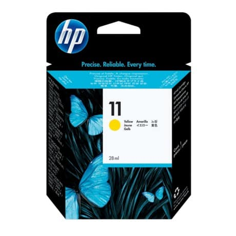 HP 11 Original Ink Cartridge C4838A Yellow