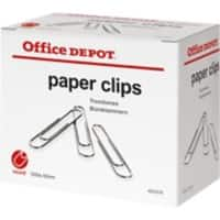 Office Depot Paper Clips Giant 50 mm 1000 Per Box