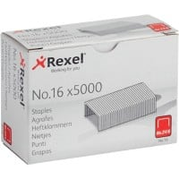 Acco Rexel Staples No. 16-6mm (5000/Bx)