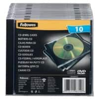 Fellowes CD Jewel Cases 98310 1 CD 10 Pieces