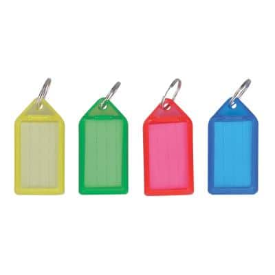 Office Depot Key Tags Assorted Large Pack of 50