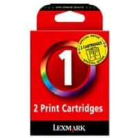 Lexmark 1 Original Ink Cartridge 80D2955 3 Colours 2 pieces