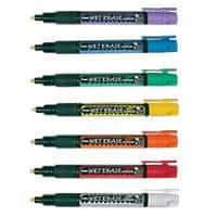 Pentel Chalk Marker SMW26 Chisel 1.5 mm Assorted 7 Pieces