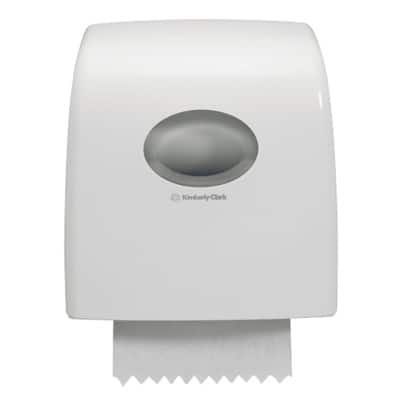 Aquarius* Slimroll* Rolled Hand Towel Dispenser White