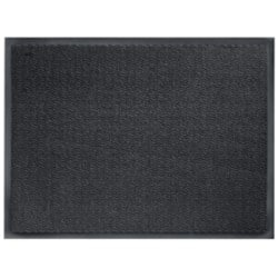 Niceday Internal Use Floormat 600 mm x 900 mm Black