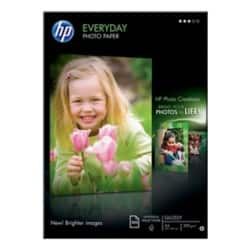 HP Photo Paper Q2510A A4 200gsm White Glossy 100 Sheets