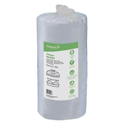 Sealed Air Small Bubble Wrap 500 mm (W) x 25 m (L) Transparent