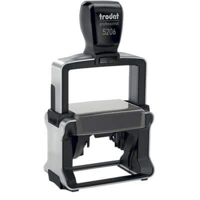 Trodat Custom Text Stamp 5206 Black