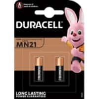 Duracell MN21 Batteries 8LR932 Long Lasting 12V Alkaline 2 Pieces