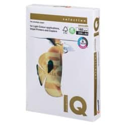 IQ Coloured Paper A4 160gsm White 250 sheets