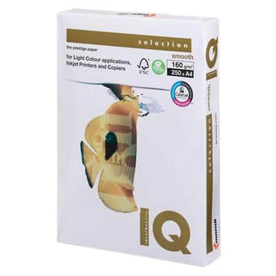 IQ Copy Paper A4 160gsm White 250 Sheets