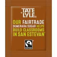 Fairtrade Brown Sugar Sachets Box 0f 1000