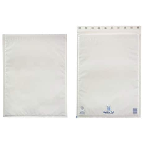 Sealed Air Mailing Bags k/7 79gsm White plain peel and seal 50 pieces