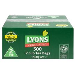 Lyons Black Tea Tea Bags 500 Pieces