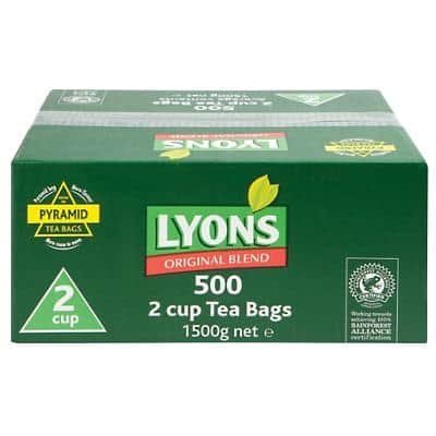 Lyons Tea Bags 500 Pieces
