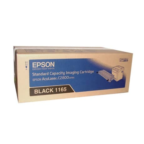 Epson 1165 Original Toner Cartridge C13S051165 Black